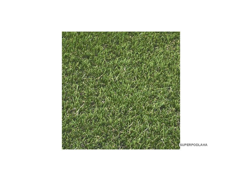 umela trava real grass 606 zelena