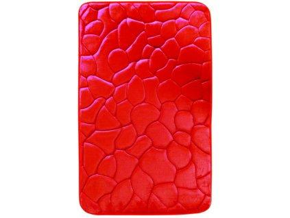 Koupelnová předložka 50x40cm 0133 red