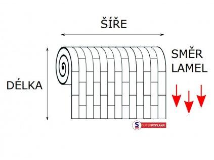 PVC AMBIENT Antique oak 26M