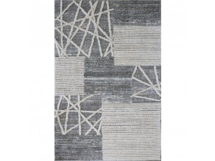 koberec cannes 7884b white l grey
