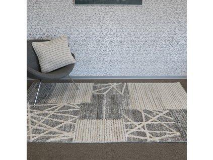 koberec cannes 7884b white l grey (1)