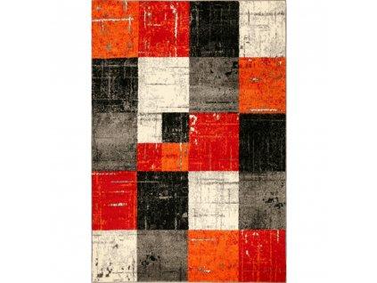 koberec jasper 20762 910 cierna cervena