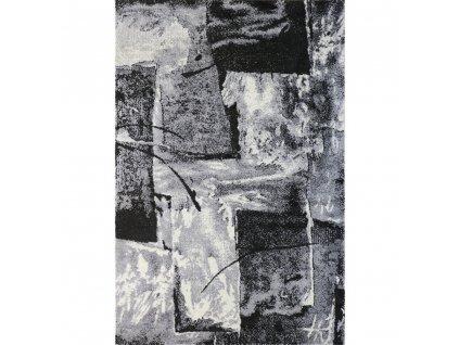 koberec lunar 4226a white anthracite