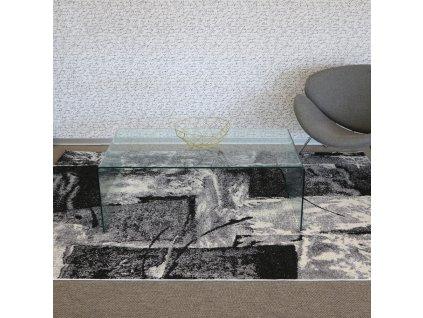 koberec lunar 4226a white anthracite (1)