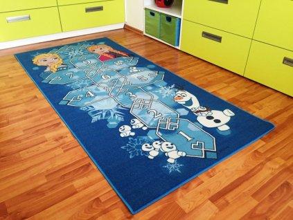 Dětský koberec Frozen 77 Hopscotch