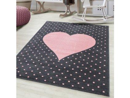 Dětský koberec Bambi 830 pink