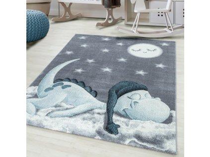 Dětský koberec Bambi 840 blue