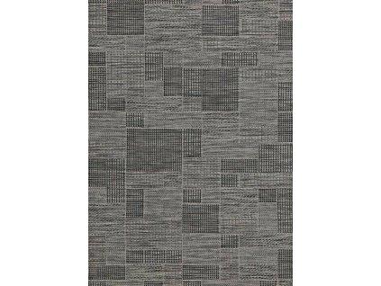 Kusový koberec Terazza 21107/SILVER BLACK-GREY