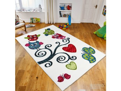 Kusový koberec KIDS 420 white 1