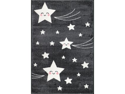 Kusový koberec Playtime 0610A d.grey