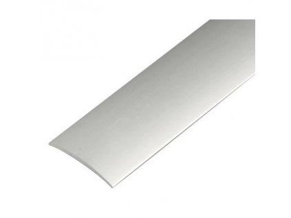 Přechodová lišta šroubovací 60 mm x 2700 mm - stříbro