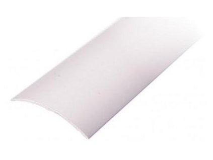Přechodová lišta samolepící oblá 30 x 93 mm stříbrná