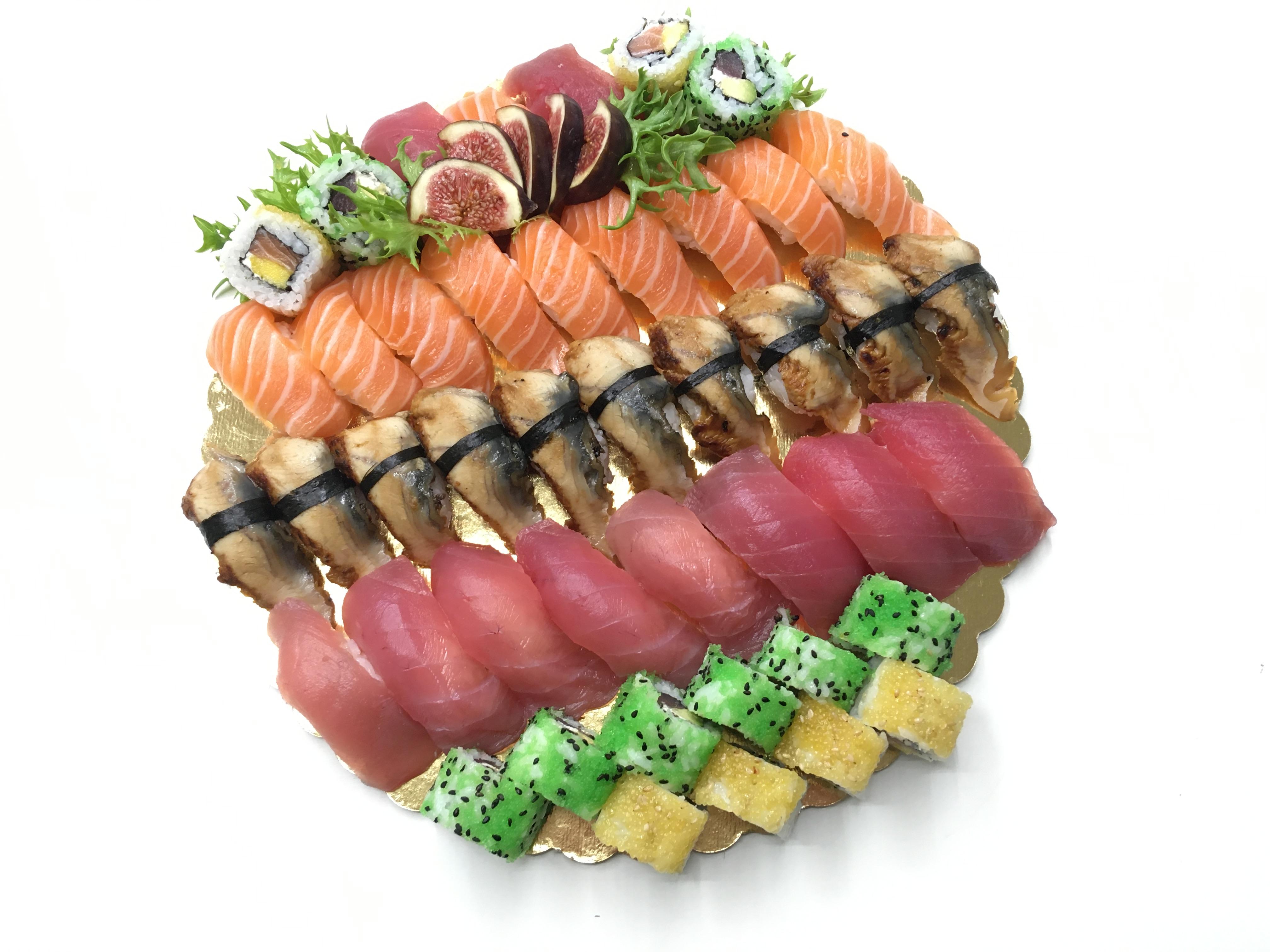 Sushi tácy