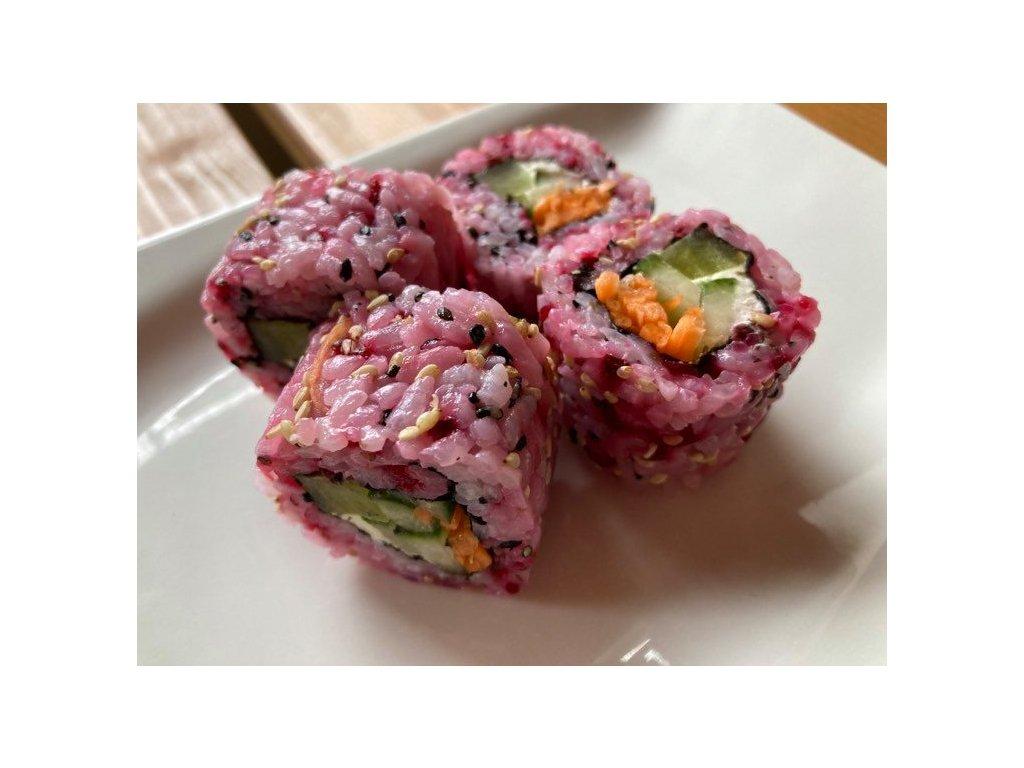 vegetarianske sushi cervena repa