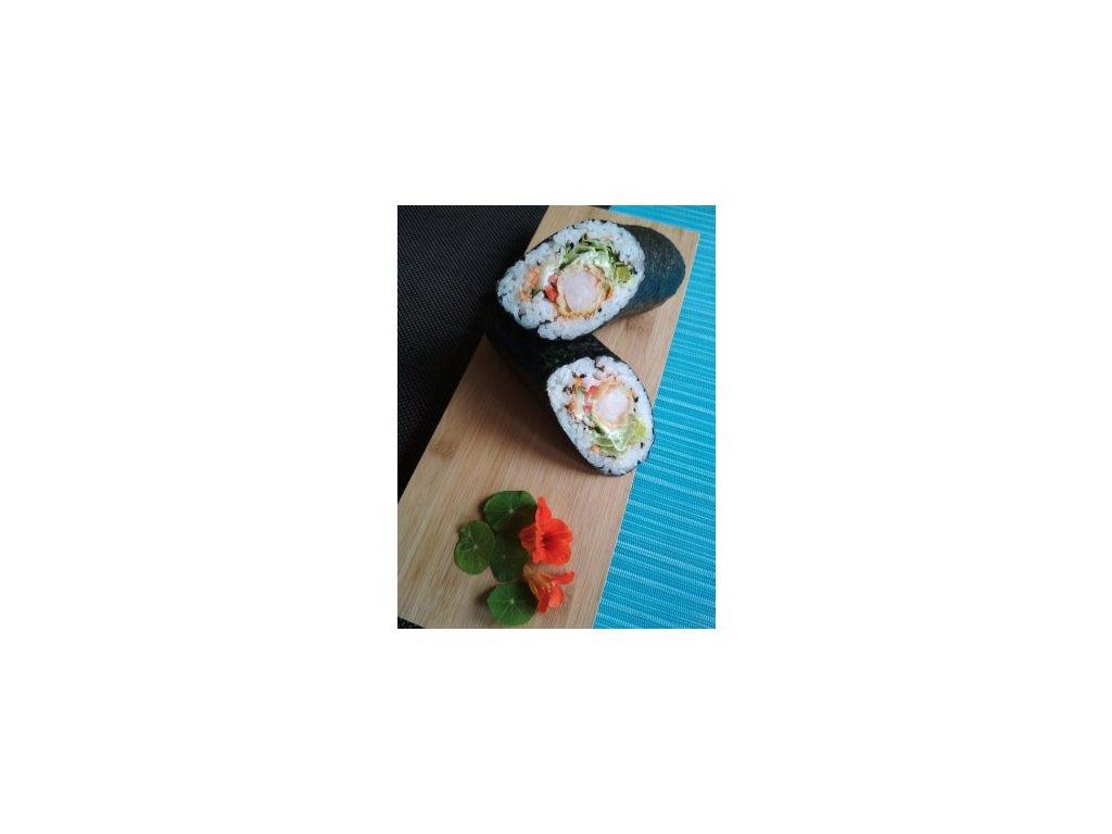 Sushi tortilla