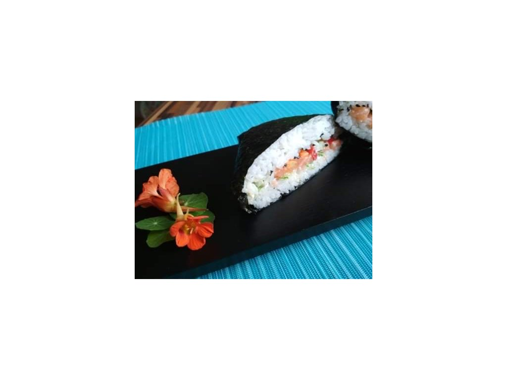 Sushi sendvič losos