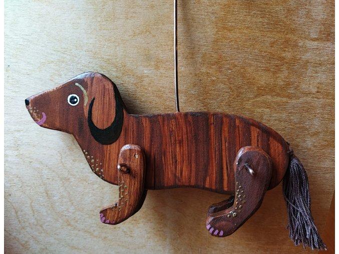 Dřevěná zvířátka