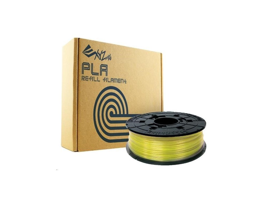 ekologická 3D tisková struna XYZ da Vinci PLA Clear Yellow Svět 3D tisku