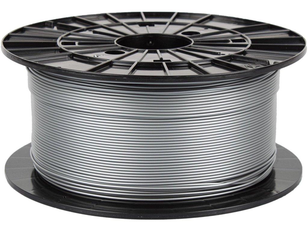 3D tisková struna Filament PM PLA stříbrná