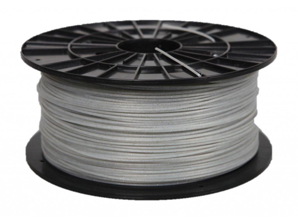 Plasty Mladeč 0008 PLA perlová bílá s flitry