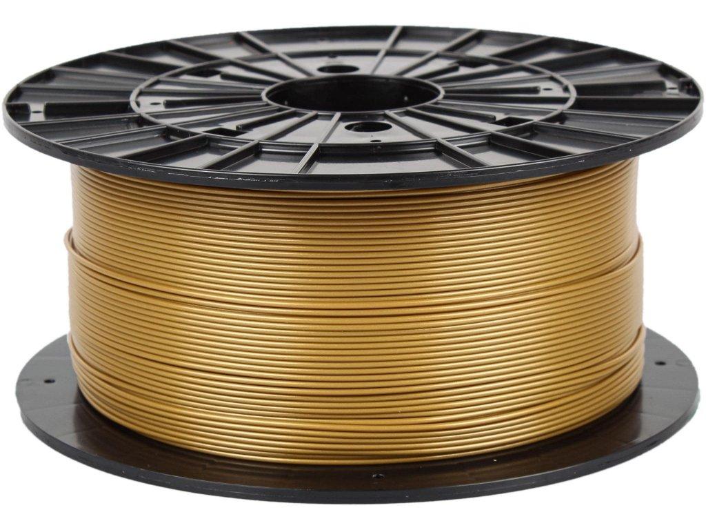3D tisková struna Filament PM PLA zlatá