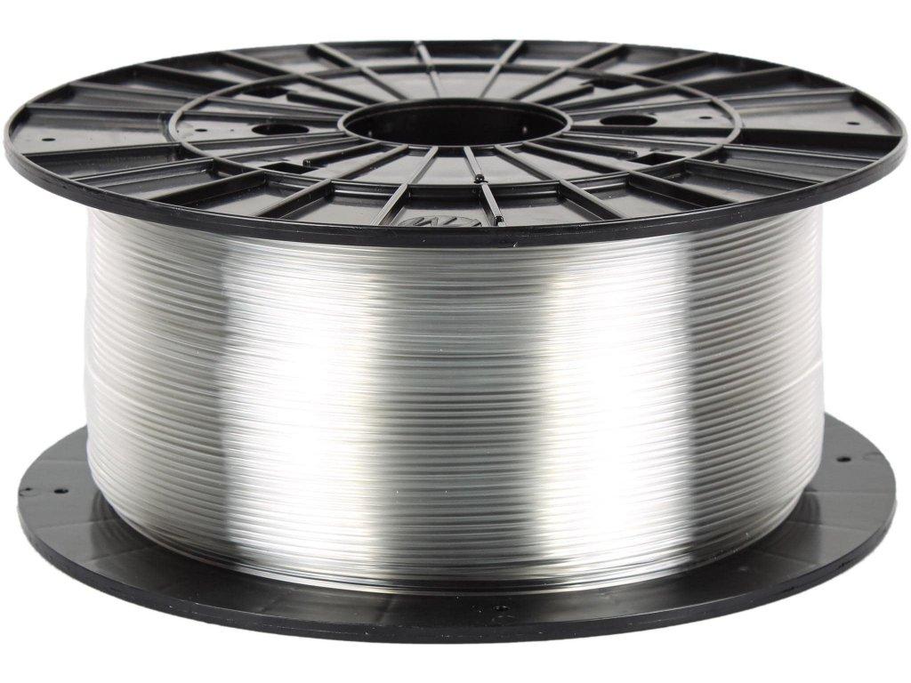 3D tisková struna Filament PM PETG transparentní