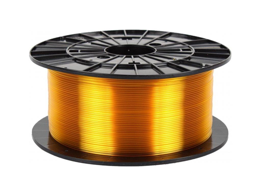 3D tisková struna Filament PM PETG transparentní žlutá