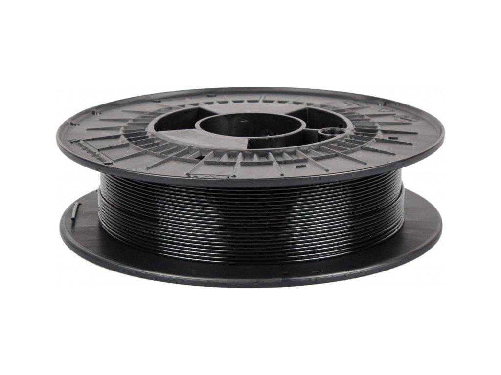 3D tisková struna Filament PM PETG transparentní černá