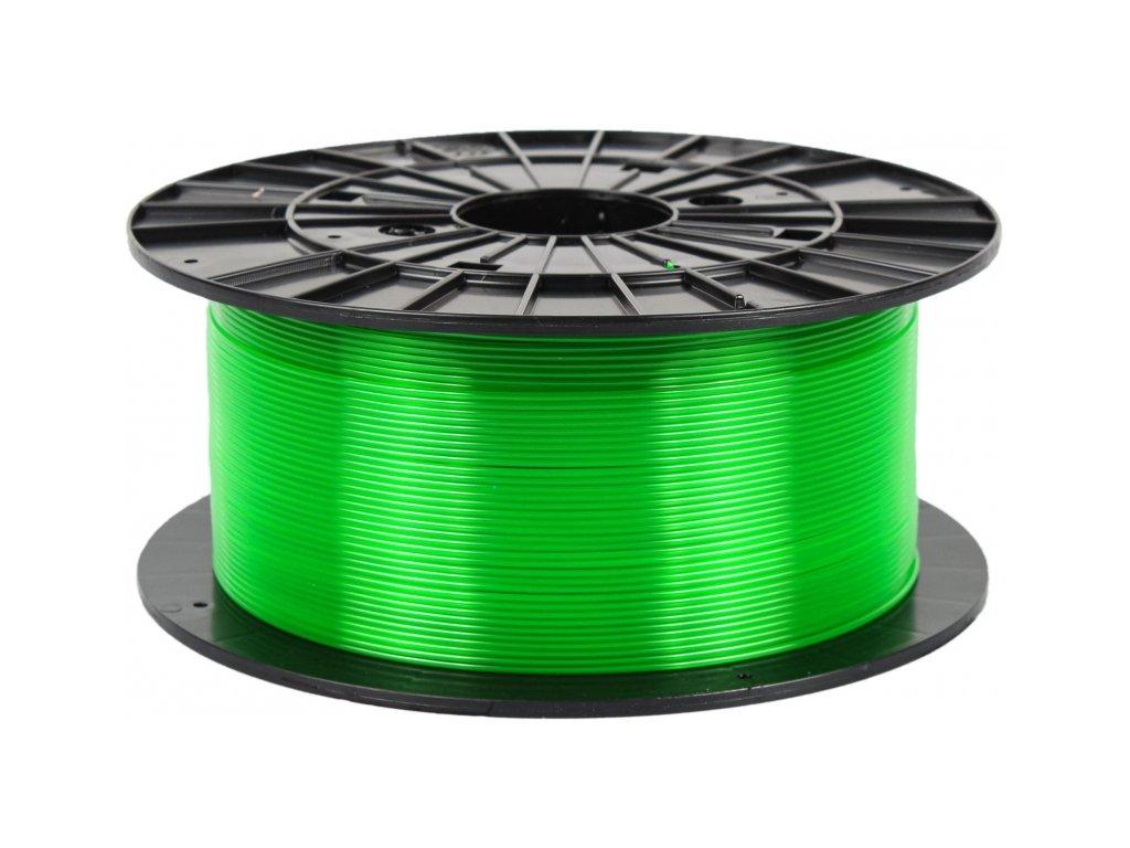 PETG transparent green