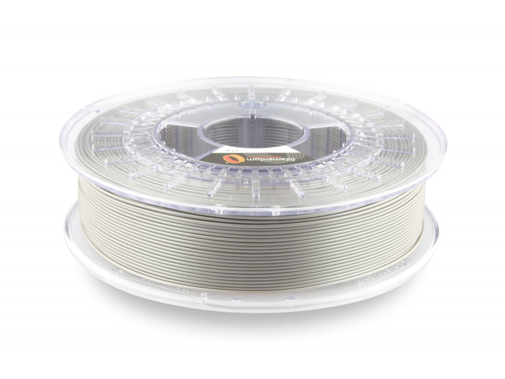 3D tisková struna PLA Extrafill Metallic Grey