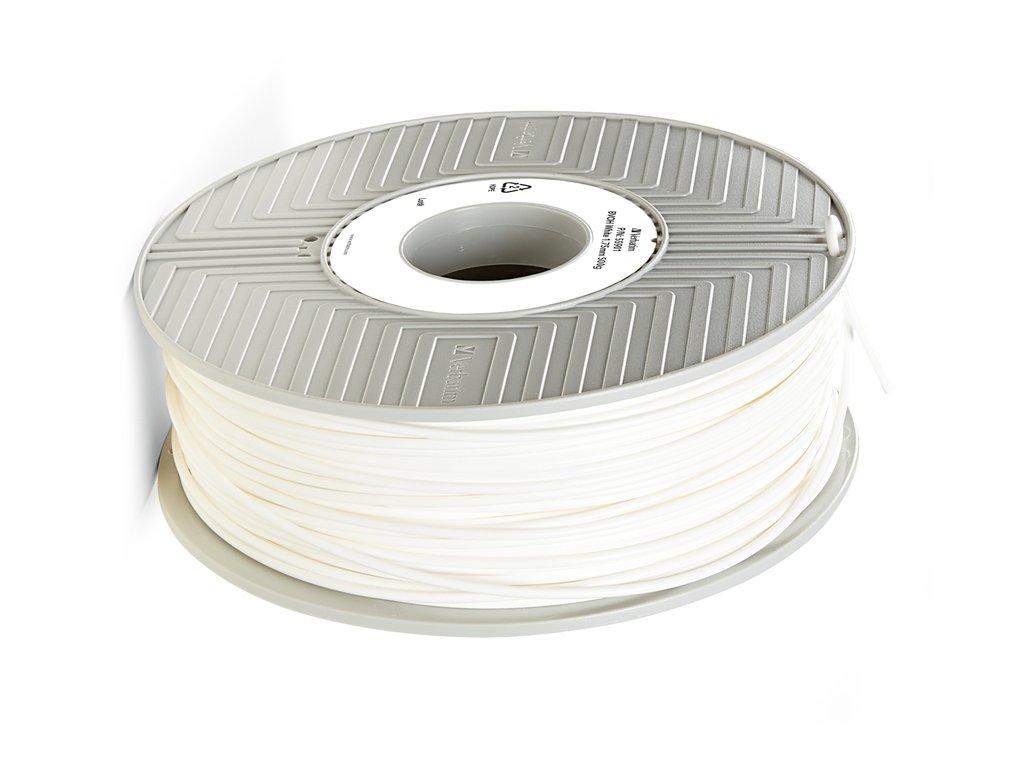 Verbatim BVOH bílá (Průměr struny 1.75 mm, Hmotnost návinu 0.5 kg)