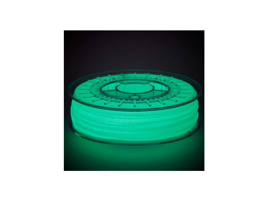 3D tisková struna - ve tmě svítící  ColorFabb PLA /PHA glowFill  Svět 3D tisku