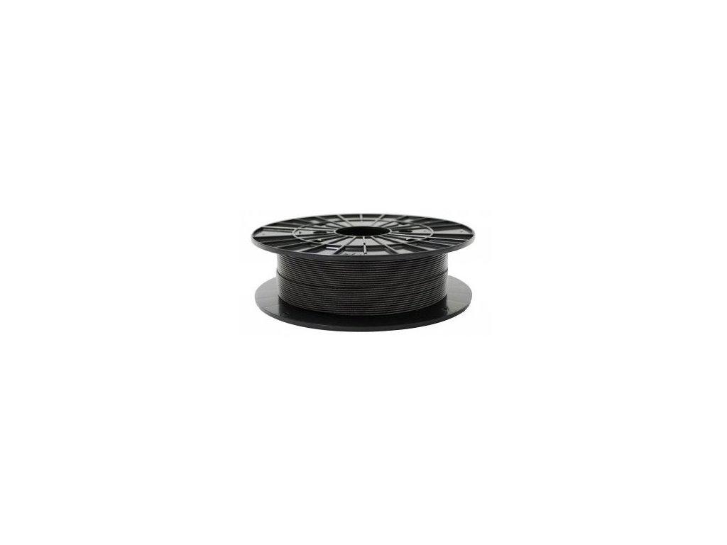 PLA grafitová černá (Průměr struny 1.75 mm, Hmotnost návinu 0.5 kg)