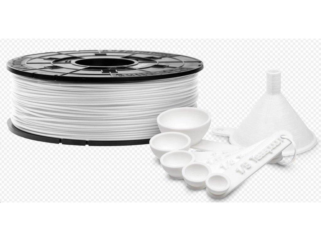 2615 xyz da vinci antibakterialni filament pla 600g bila