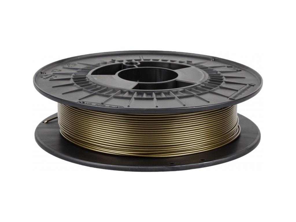 Filament PM PETG žabí zlato (Průměr struny 1.75 mm, Hmotnost návinu 0.5 kg)