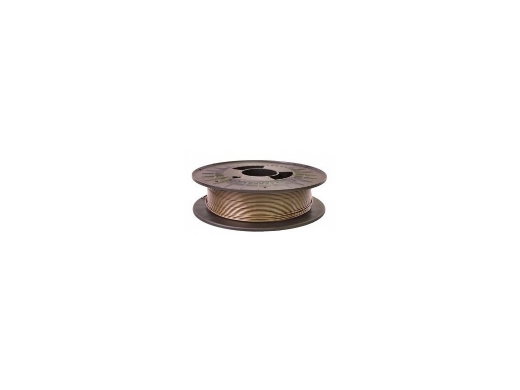 Filament PM PETG kávová bronzová (Průměr struny 1.75 mm, Hmotnost návinu 0.5 kg)