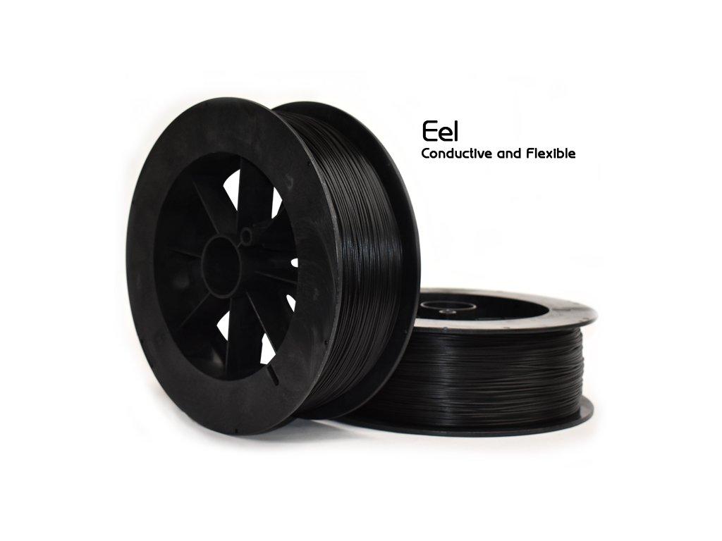 3D tisková struna NinjaTek NT Eel Midnight 1,75 mm 0,5 kg