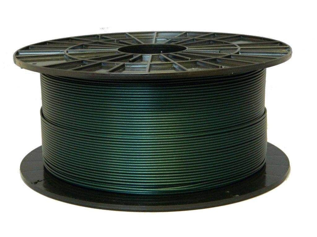 3D tisková struna Filament PM PLA metalická zelená
