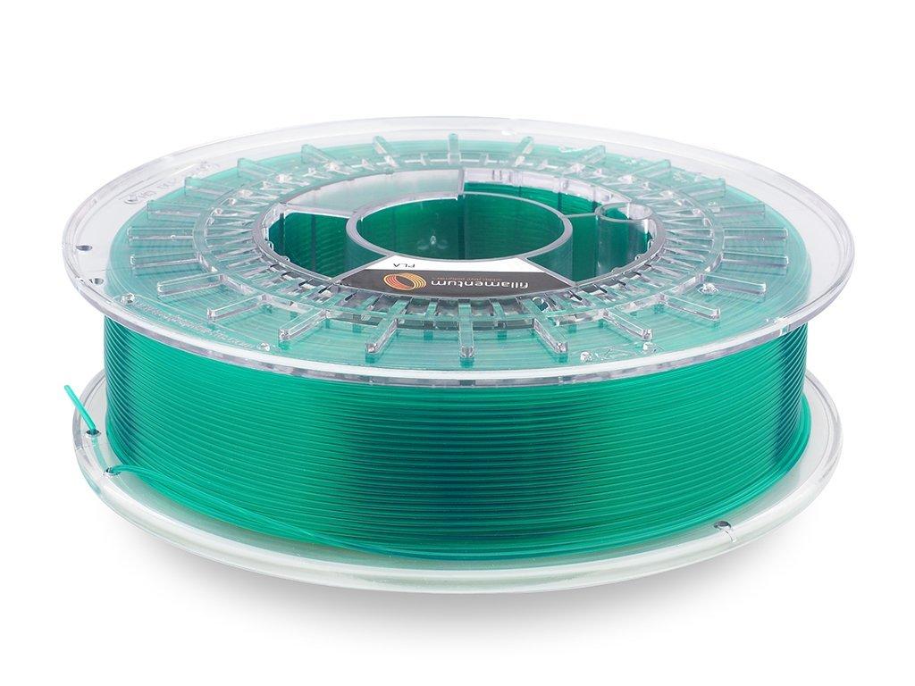 PLA Extrafill Crystal Clear Smaragd Green 1 75