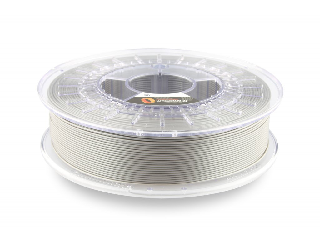 3D tisková struna ABS Extrafill Metallic Grey