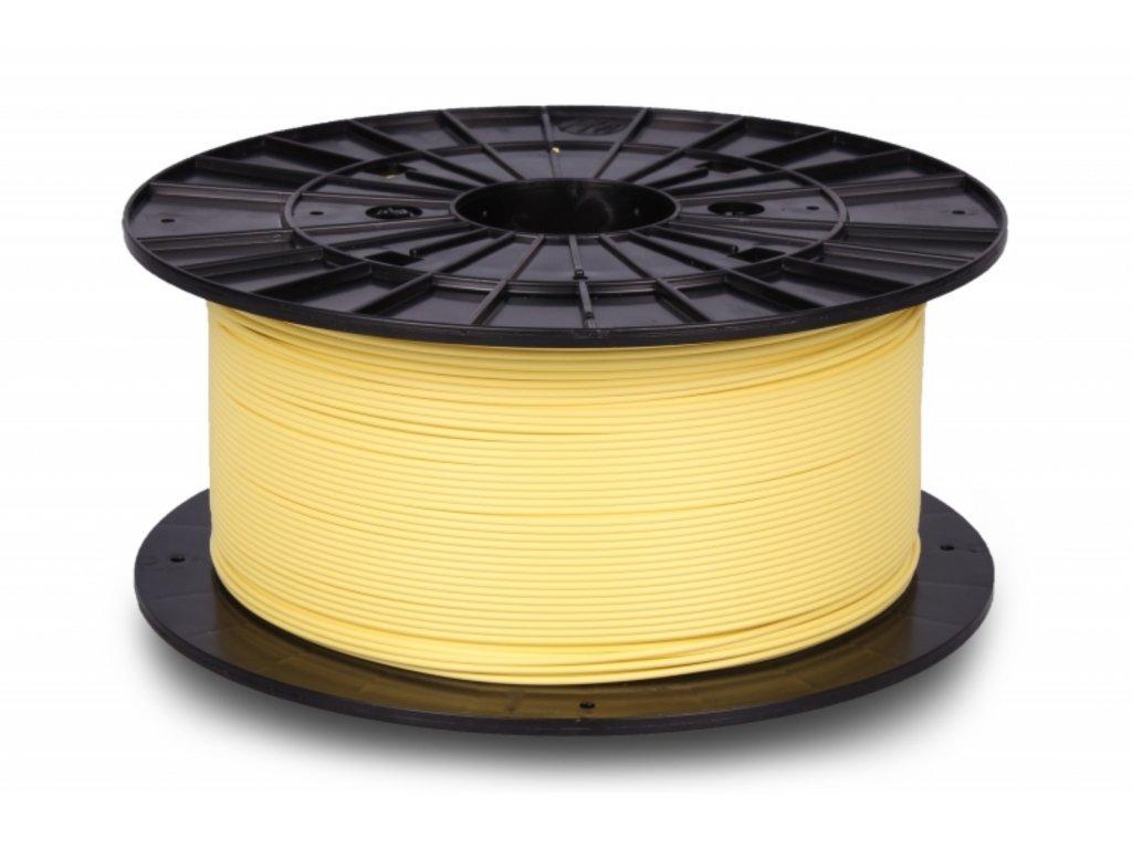 3D tisková struna Filament PM PLA+ pastel edition - Banana Yellow