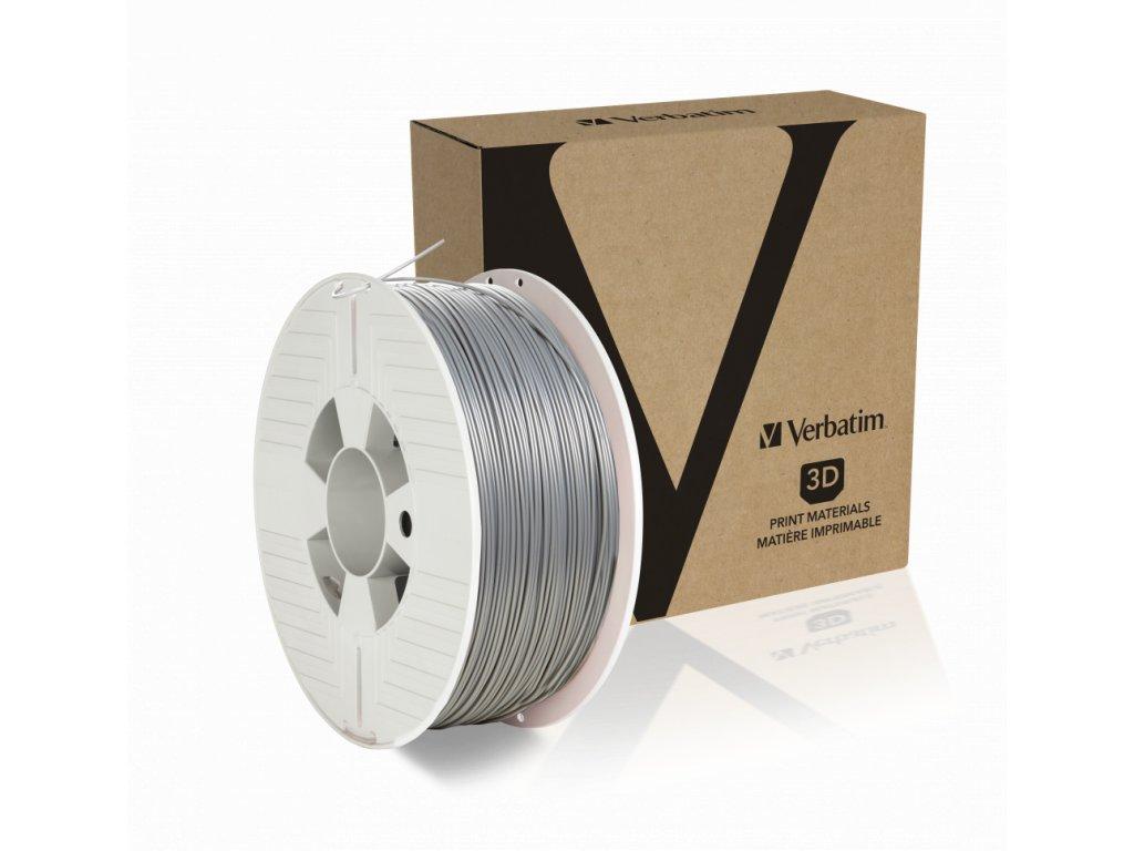 Verbatim PLA stříbrná 2,85mm 1kg