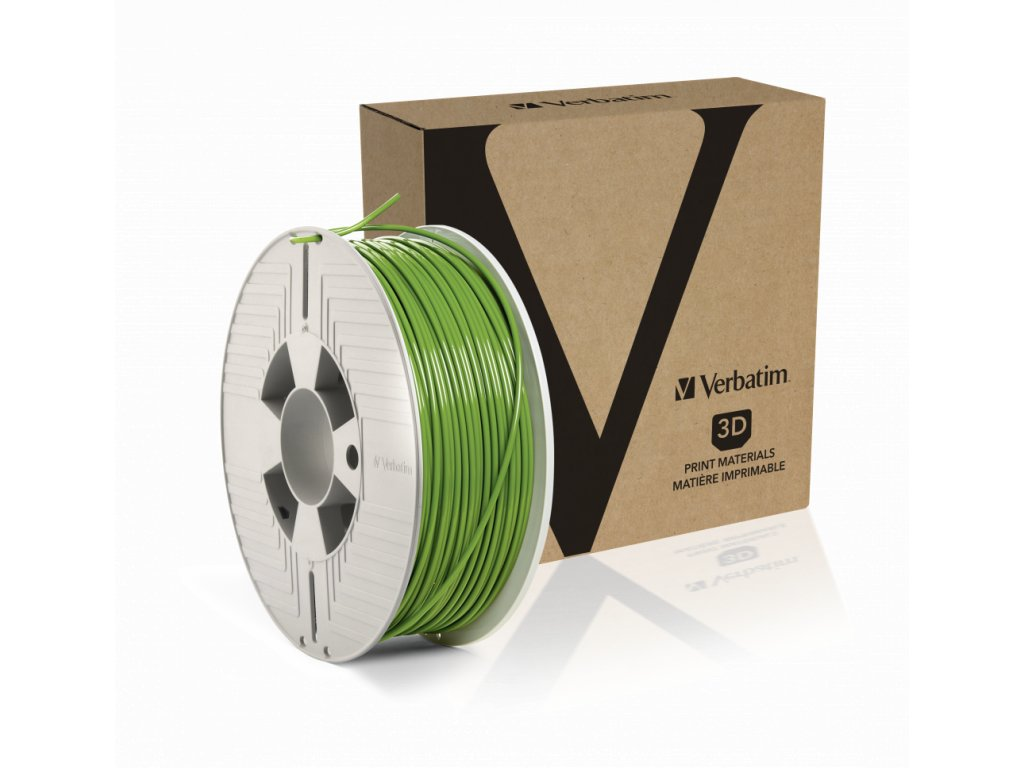 PLA 2.85mm Green Angled+Product