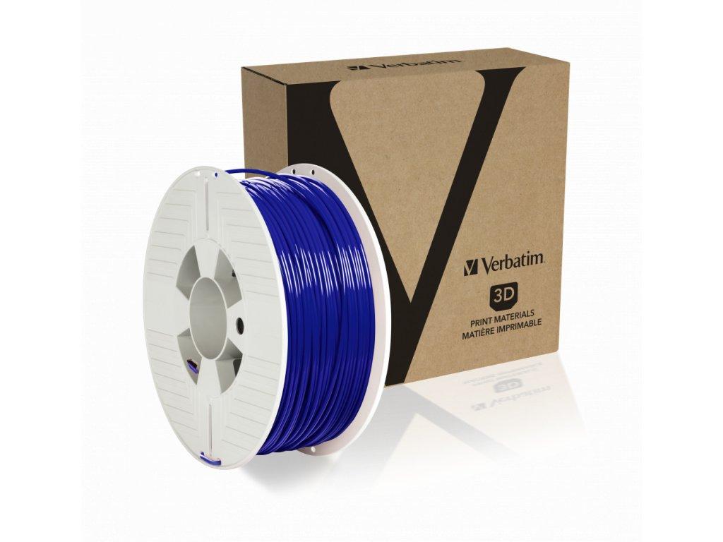 Verbatim PET G 2.85mm Blue Angled+Product