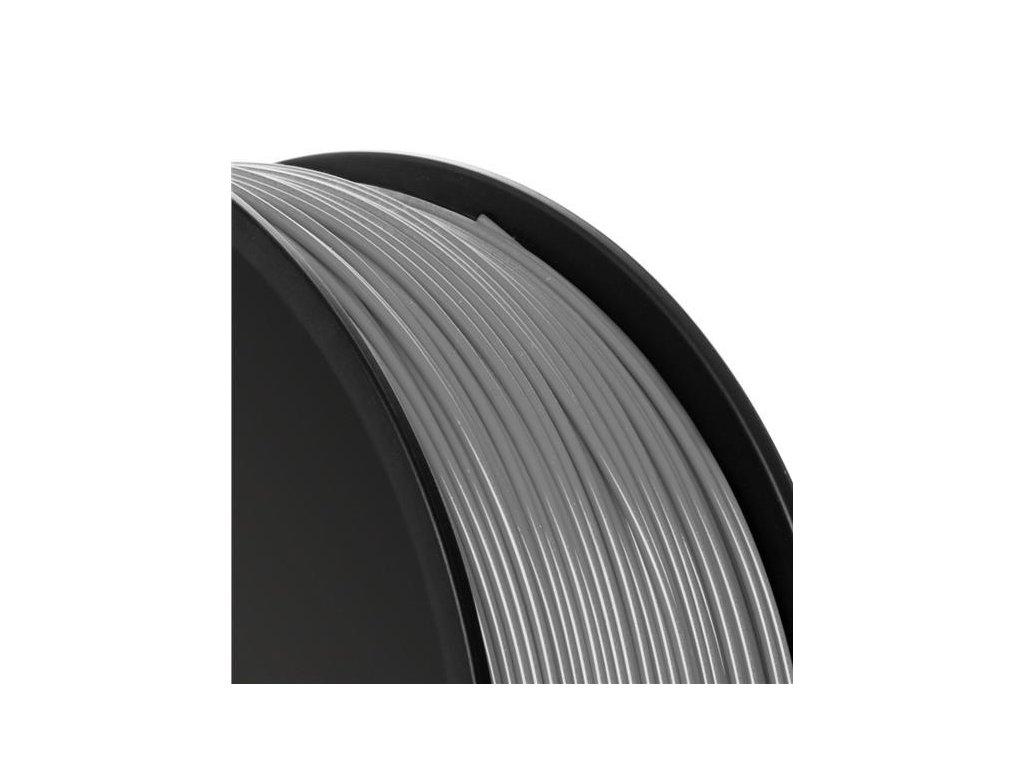 ekologická 3D tisková struna Verbatim PLA silver/metal grey Svět 3D tisku