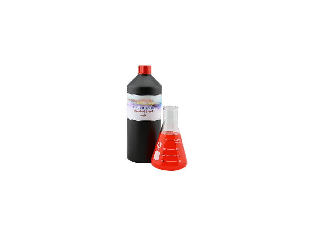 699 funtodo standard blend red dlp resin 1l