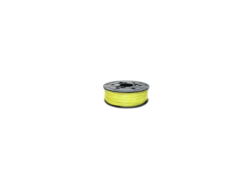 739 da vinci abs neon yellow 3d filament cartridge 600gr