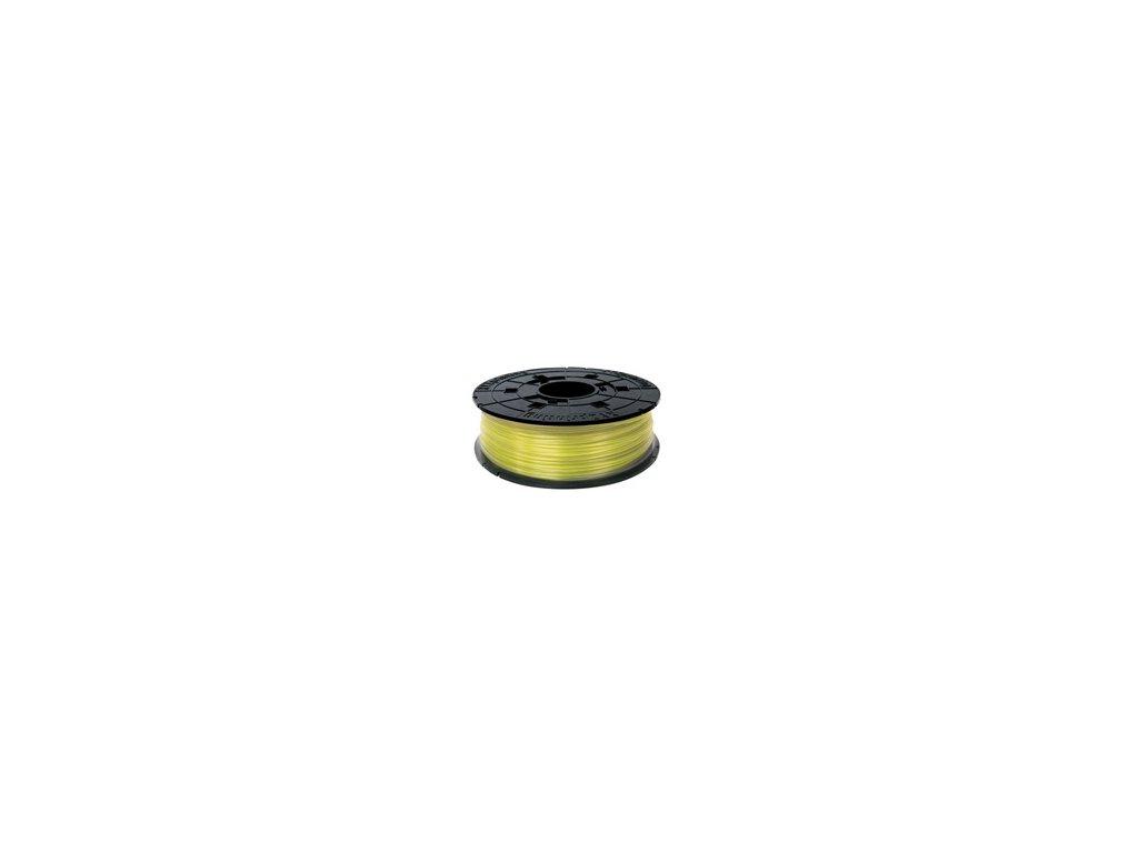 da Vinci PLA Filament Cartridge Clear Yellow 600gr