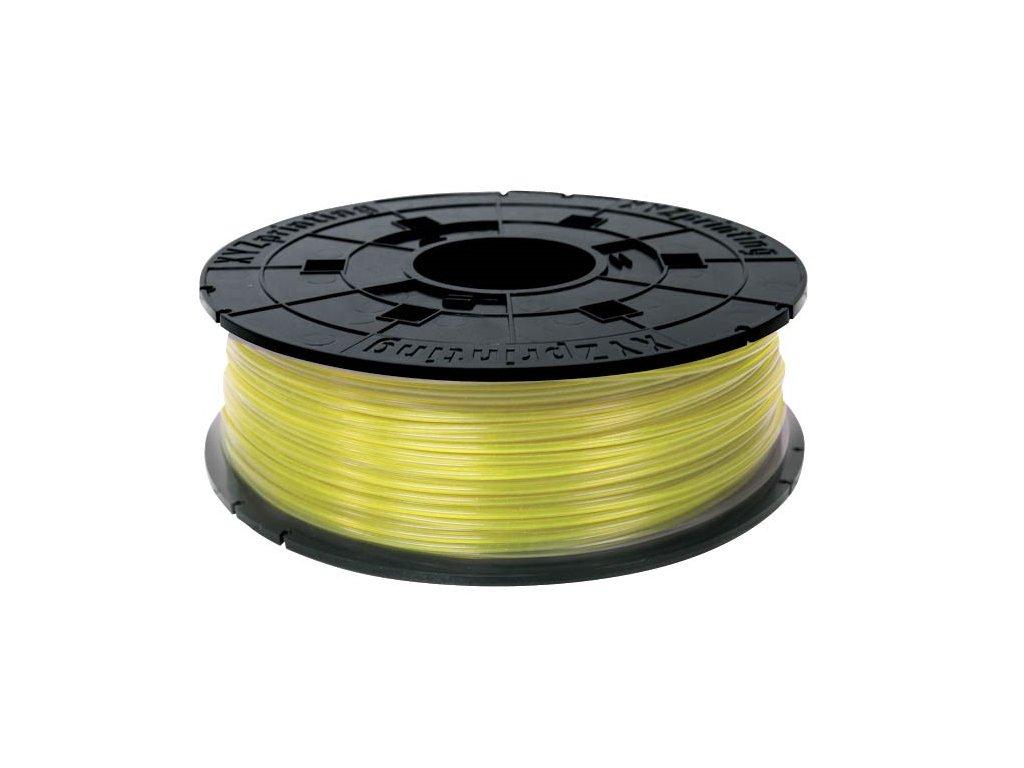 da Vinci Junior PLA Clear Yellow 600g Cartridge
