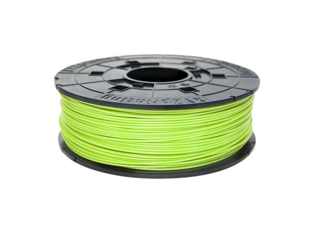 da Vinci Junior PLA Neon Green 600 g Cartridge